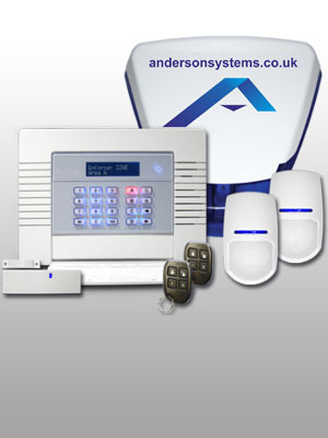 Intruder Alarms Burglar Alarms CCTV and all aspects of home and commercial security in Chelmsford Essex from Anderson Systems